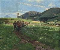 a spring festival by hans dahl