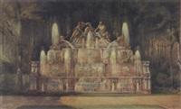 le buffet d'eau à trianon by noël marcel lambert
