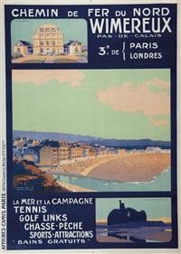 chemin de fer du nord wimereux pas-de-calais by henry de renaucourt