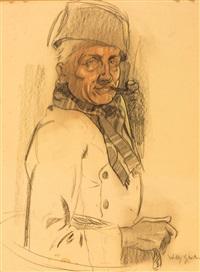 monsieur fume la pipe by willy sluijter