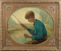 a fishing boy by frans slager