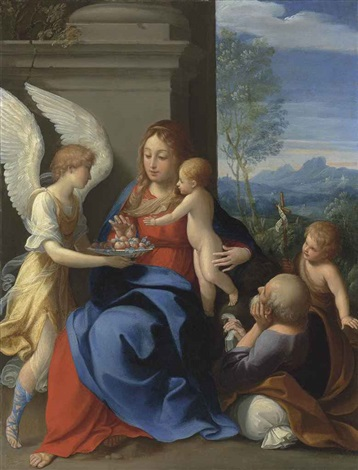 the rest on the flight into egypt by guido reni