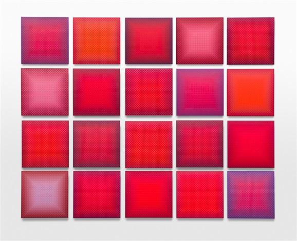 twenty reds by julian stanczak