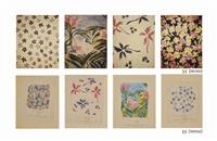 quatre motifs gais (4 recto-verso works) by annette messager