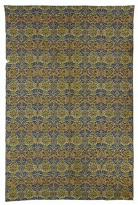 wreath pattern fragment by william morris