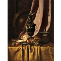 still life with ewer and fruit by milne ramsey