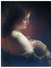 divinity of motherhood by charles frederick naegele