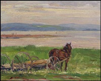 on the bature (sic), baie-saint-paul by frederick william hutchison