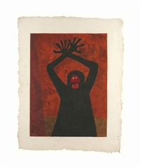 protesta by rufino tamayo