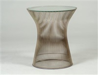side table by warren platner