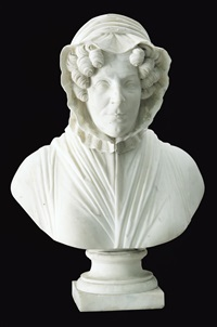 busto di gentildonna by pompeo marchesi