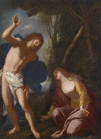 noli me tangere by annibale carracci