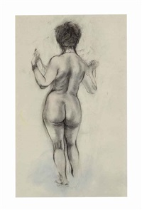 female nude by george grosz