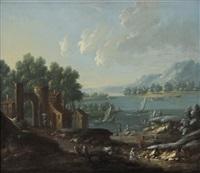 paysages de mer (pair) by marc baets