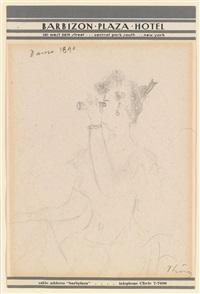 dame 1890 by wilhelm thöny
