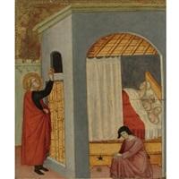 the charity of st. nicholas by bartolo di messer fredi