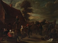 personajes en aldea by matheus van helmont