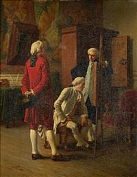 the connoisseurs by benjamin eugène fichel