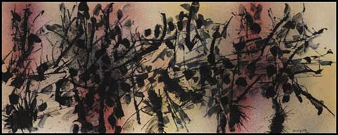sans titre by jean paul riopelle