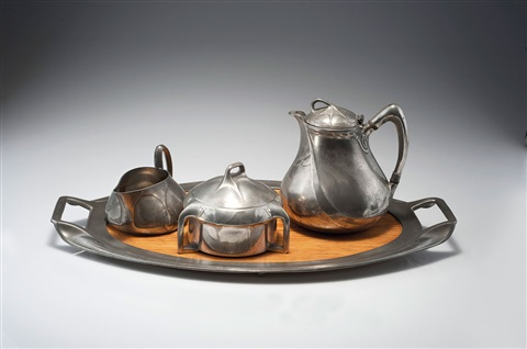 teeservice set of 4 kaffeekanne 5 works by albinmüller
