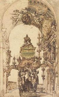 projet de monument funéraire by thomas blanchet