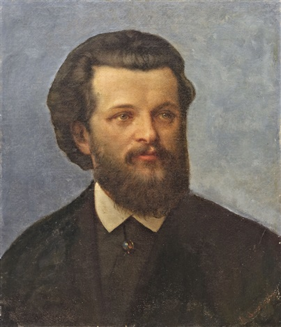 portrait of karl marx by ferdinand wachsmuth