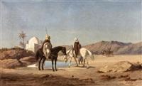 la halte des cavaliers by lieutenant long