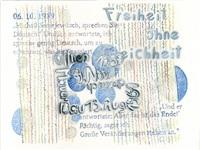 9. november 1989 by christine & irene hohenbüchler