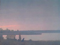 Winter Dawn on the South Platte River, 1990–2000