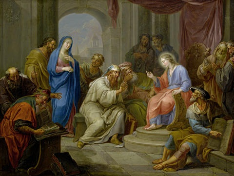 the adoration of the magi christ amongst the doctors pair by franz christoph janneck