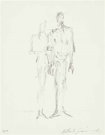 le couple by alberto giacometti