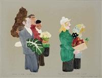 vegetable carriers by raymond mason