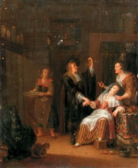 the doctor's visit by adriaen verdoel