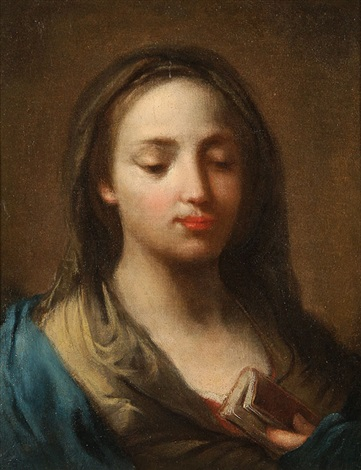 the virgin by jacopo amigoni