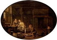 intérieur de cuisine by sybrand van beest