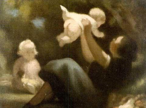 scène familiale by rené pierre louis besserve