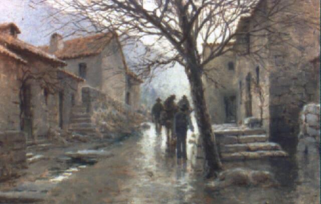 pueblo de la sierra by tomas campuzano y aguirre