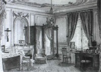 chambre de la duchesse d'alencon by georges remoy