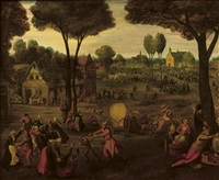 a village kermesse by pieter balten