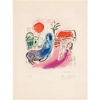 maternité au centaure by marc chagall