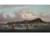 the harbour, hong kong by youqua