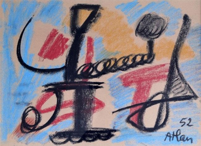 composition by jean michel atlan