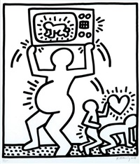amelio by keith haring