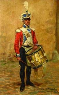 tambour de l'infanterie légère by raymond desvarreux-larpenteur