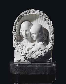 feodorowna and sophia wellesley by henri joseph françois baron de triqueti