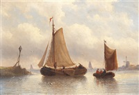 an afternoon on the water by eduard alexander hilverdink