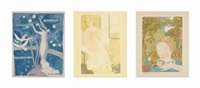 amour (12 works) by maurice denis