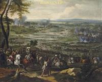 la bataille de seneffe (collab. w/studio) by adam frans van der meulen