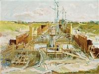 bouwput by jan van der baan