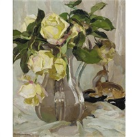 yellow roses by amy katherine dugdale